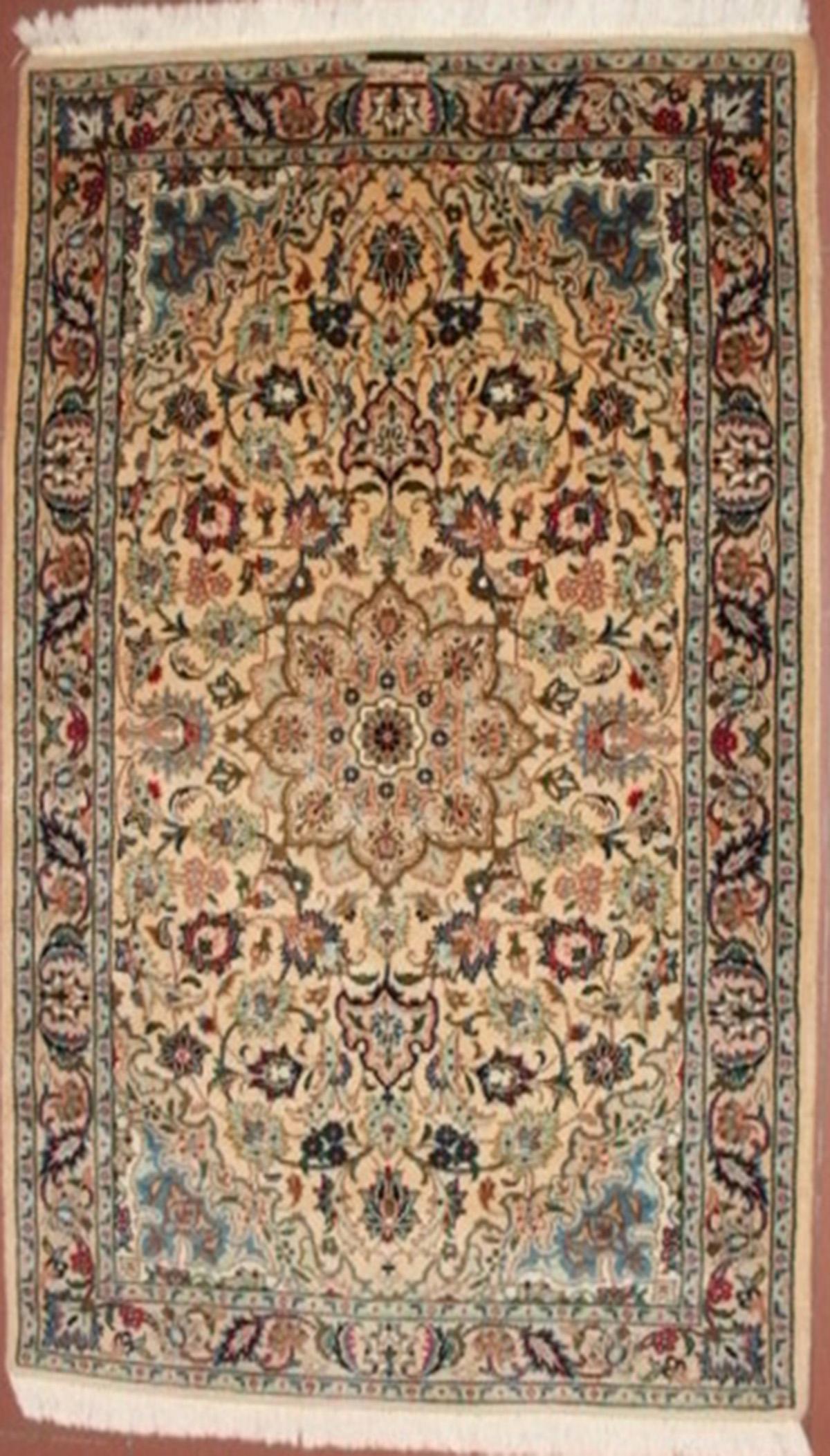 Certificato di perizia expertise del tappeto persiano firmato fayaz e numerato 115 kashmar - Valore tappeto persiano ...