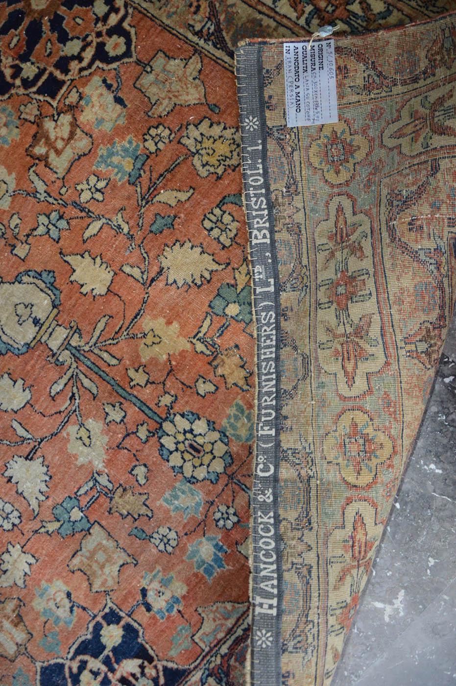 10605 Sultanabad etichetta Bristol GB