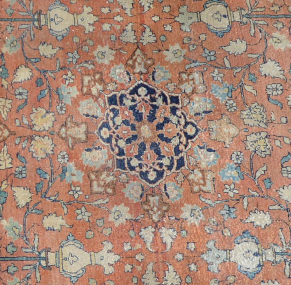 10605 Sultanabad medaglione romboidale ottagonale